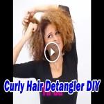 Curly Hair Detangler DIY