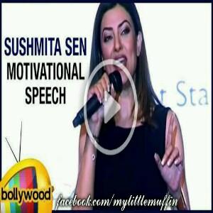 Sushmita Sen's heart wrenching speech