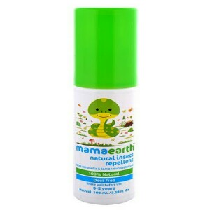 Mamaearth Natural Insect Repellent REVIEW | Makes babies unattractive to mosquitoes
