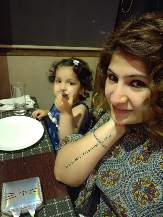 Dining out with kids